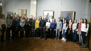 Посещение Национального художественного музея
