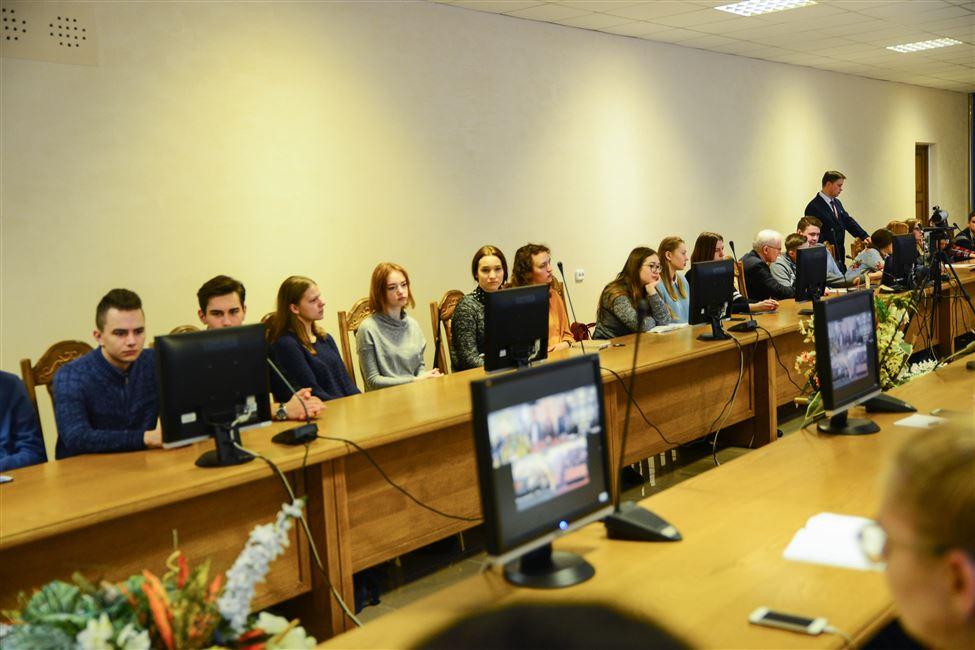 Студенты БГТУ приняли участие в телемосте