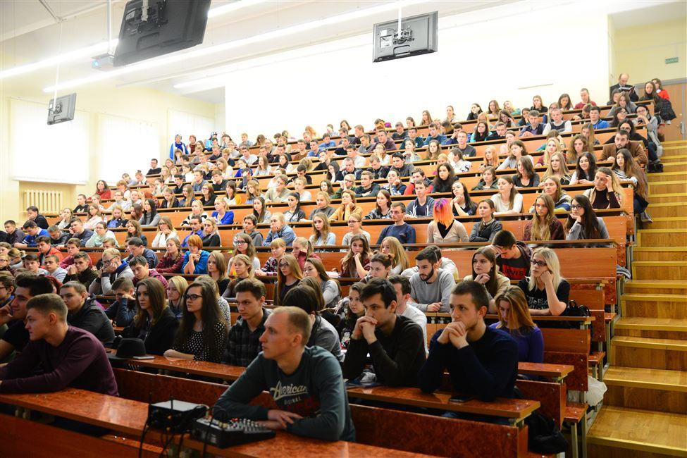 Встреча, посвященная 100-летию Октябрьской революции