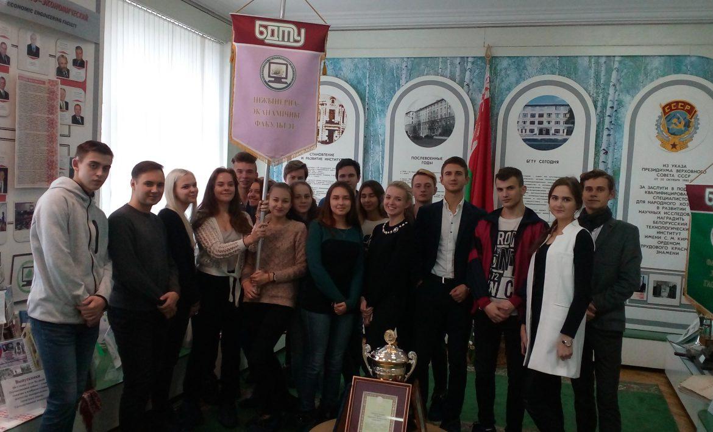 Студенты ИЭФ посетили музей БГТУ
