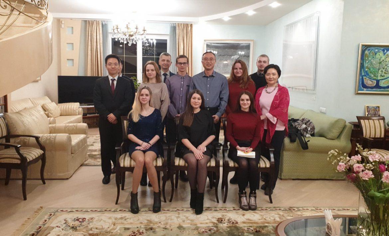 Встреча студентов с Послом Республики Корея