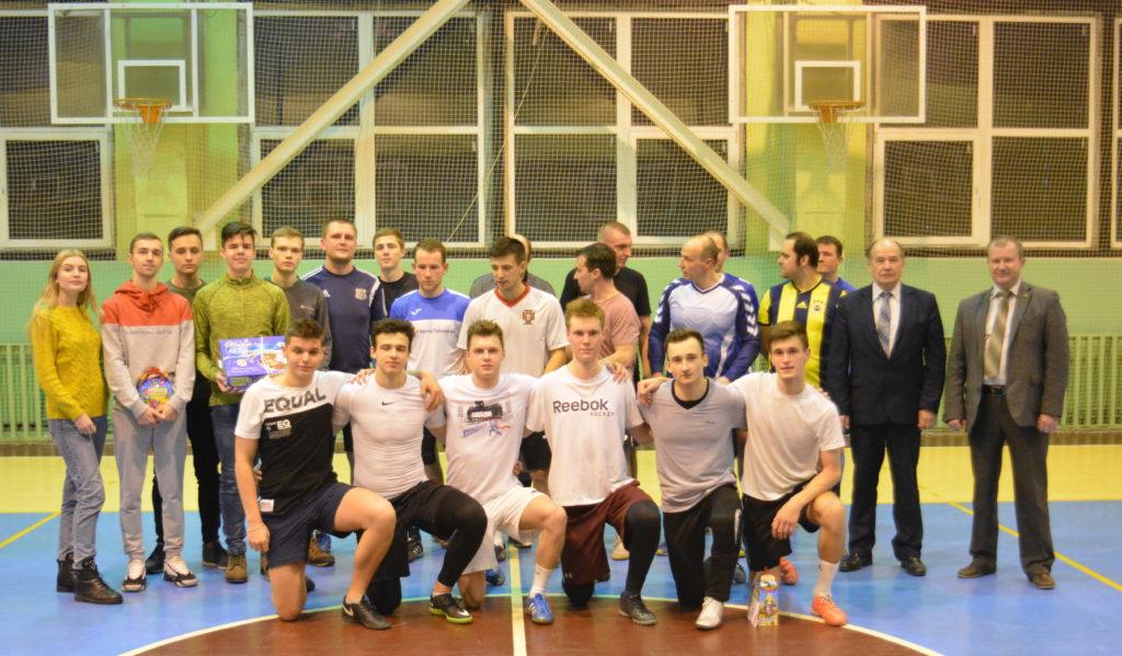 В БГТУ состоялся Рождественский турнир по футболу «PRO ИЭФ»